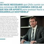 Corfo: Se hace necesario que Chile cuente con estrategia de economía circular que permita avanzar hacia un desarrollo sostenible